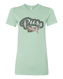 "Ladies' ""Puss"" Silhouette Tee - KLH Collection"