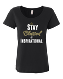 "Ladies' ""Stay Blessed"" Scoop-Neck Tee - KLH Collection"