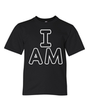 """I AM"" Unisex Tee for Big Kids - KLH Collection"