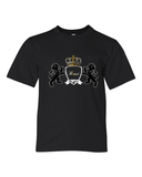 """KLH Coat of Arms"" Unisex Tee For Big Kids - KLH Collection"