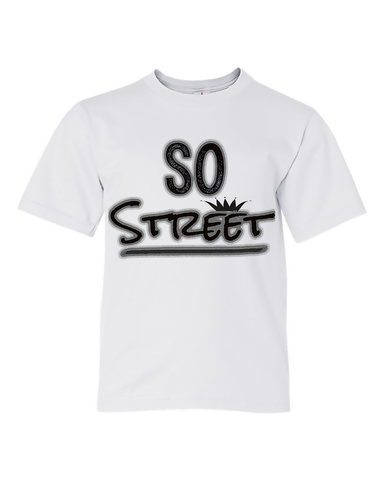 "Big Kids' ""So Street"" Unisex Tee - KLH Collection"