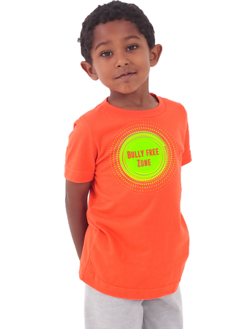 bully free zone unisex tee for little kids klh collection - Little Kids Pictures