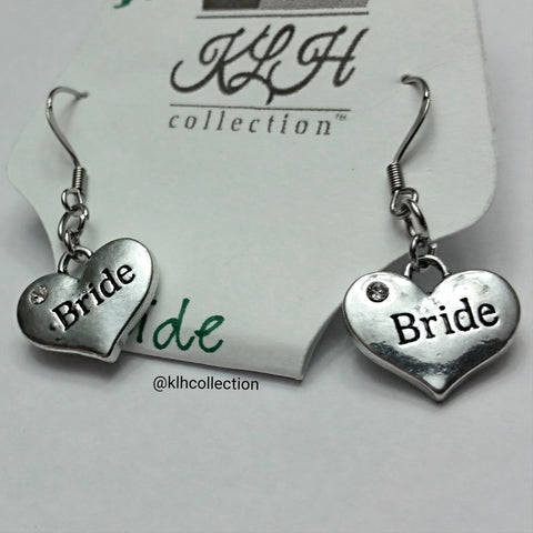 Bride Earrings - KLH Collection - 1