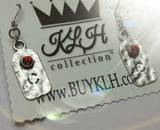 """C"" Initial Earrings - KLH Collection - 1"