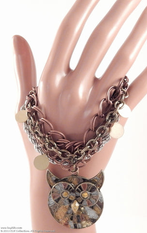 Owl Mighty Bracelet - KLH Collection - 1