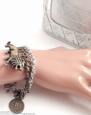 KLH's: Lioness Bracelet - KLH Collection - 1