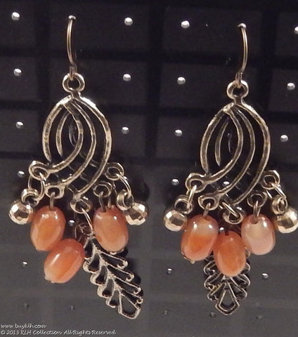 Dangle Earrings with beads - KLH Collection - 1