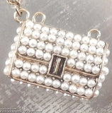 Purse with Pearls Necklace - KLH Collection