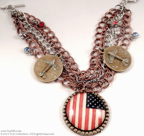 KLH's: American Aviator Bracelet - KLH Collection - 1