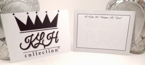 Personalized Gift Card Message - KLH Collection