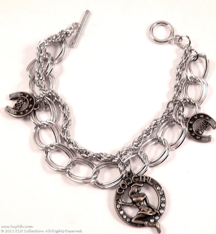 KLH's: Cowgirl Up Bracelet - KLH Collection - 1