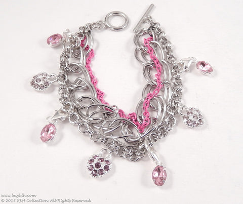 Think Pink Bracelet - KLH Collection - 1