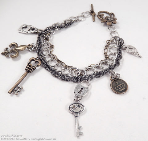 "KLH's: ""Lock Up Your Heart"" Bracelet - KLH Collection - 1"