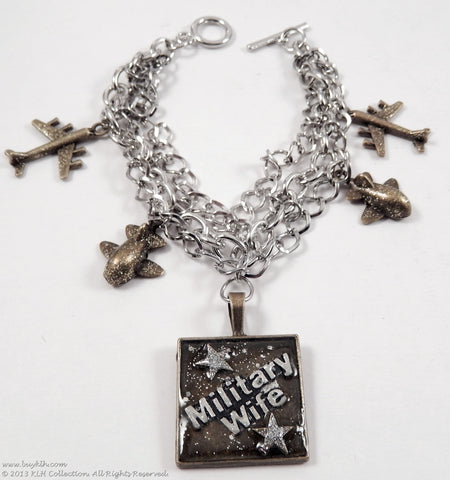 KLH's: Military Spouse Bracelet - KLH Collection - 1