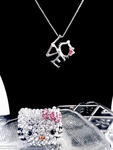 Kitty Love Necklace - KLH Collection