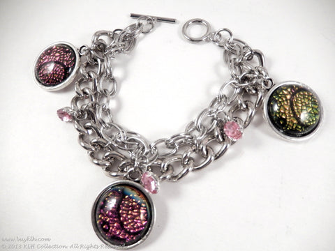 Pink Champagne Bracelet - KLH Collection - 1