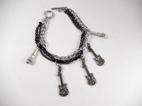 KLH's: Twisted Guitars Bracelet - KLH Collection - 1