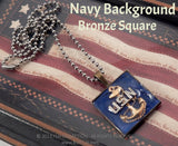 Military Insignia Necklace - KLH Collection - 6