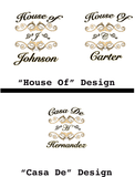 """House Of"" Classic Tee For Men - KLH Collection"