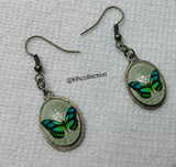 Butterfly Dangle Earrings - KLH Collection - 1