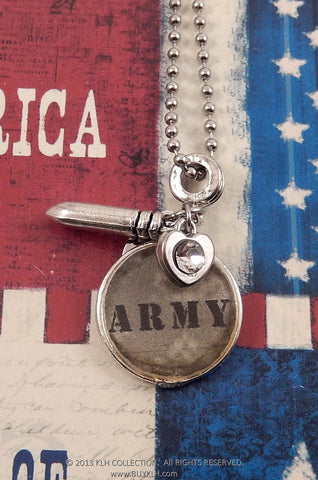 Army Necklace - KLH Collection - 1