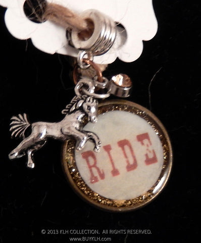 """Ride"" Pendant - KLH Collection - 1"
