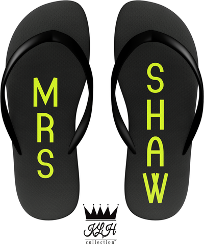 MRS: FLIP FLOPS (YELLOW)