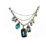 Teal Gemstone Necklace - KLH Collection