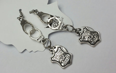 Obey The Law Earrings - KLH Collection - 1