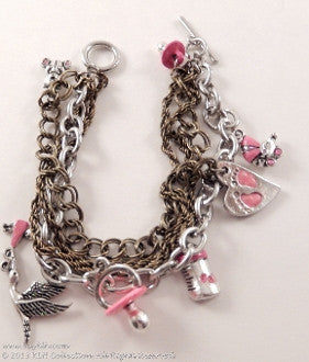 KLH's: We're Having a Girl Bracelet - KLH Collection - 1