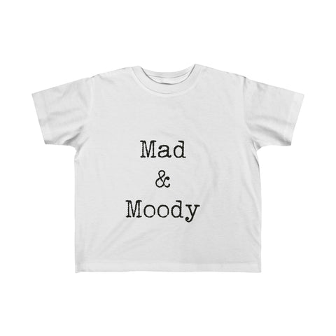 Mad & Moody:  Fine Jersey Tee For Babies