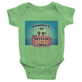 """Product of Netflix & Chill"" One Piece for Babies - KLH Collection"