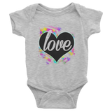 Colorful Heart One Piece For Babies - KLH Collection