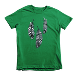 """Hanging Feather"" Unisex Tee For Little Kids - KLH Collection"