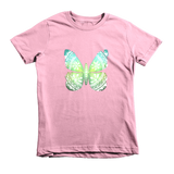 """Tattered Butterfly"" Unisex Tee For Little Kids - KLH Collection"