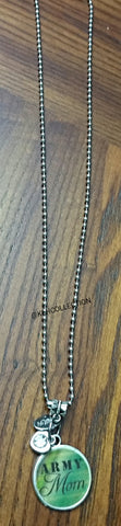 Army Mom Necklace - KLH Collection