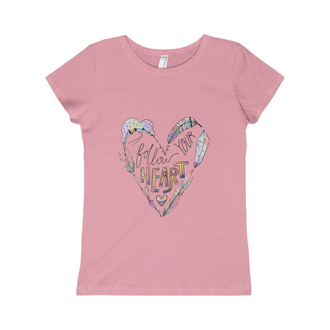 Follow Your Heart: The Princess Tee For Big Kids
