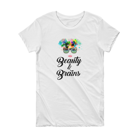 Beauty & Brains: Tee For Ladies
