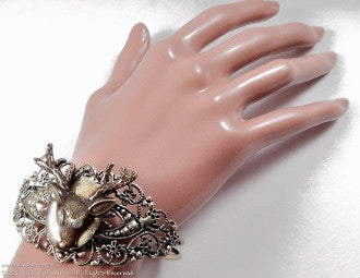 Glowing Deer Cuff Bracelet - KLH Collection - 1