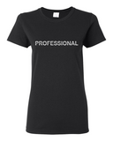 "Ladies' ""Professional"" Heavy Cotton Tee - KLH Collection"
