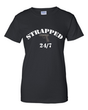 "Ladies' ""Strapped"" Ultra Cotton Tee - KLH Collection"