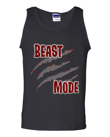 Men's Beast Mode Ultra Cotton Tank - KLH Collection