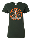 Ladies' #Anklebreaker Basketball Heavy Cotton Tee - KLH Collection