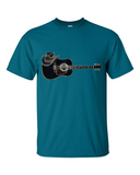 Men's Guitar and Hat Tee - KLH Collection
