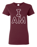 """I AM"" Tee For Ladies - KLH Collection"