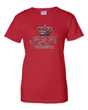 KLH Round Crown Ultra Cotton Tee For Ladies - KLH Collection