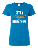 "Ladies' ""Stay Blessed"" Tee - KLH Collection"