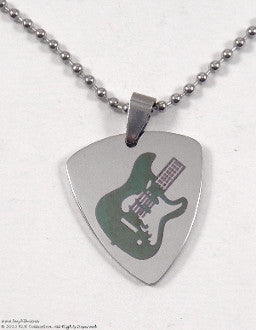 Guitar Pick Necklace - KLH Collection