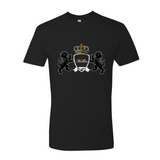 """KLH Coat of Arms"" Lightweight Premium Crew Tee For Men - KLH Collection"