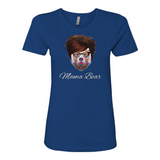 """Mama Bear"" Boyfriend Tee For Ladies - KLH Collection"